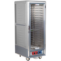 Metro C539-CFC-U-GY C5 3 Series Heated Holding and Proofing Cabinet with Clear Door - Gray