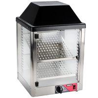 Nemco 6457 Countertop Hot Food Display / Merchandiser with Two Shelves - 120V, 350W