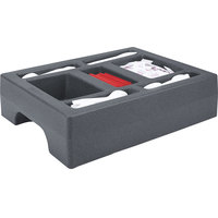 Cambro LCDCH10191 Granite Gray Condiment Holder for Cambro 1000LCD / UC1000