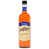 DaVinci Gourmet 750 mL Orange Sugar Free Coffee Flavoring / Fruit Syrup