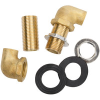 Regency Wall Mount Faucet Installation Kit - 1/2 inch Inlet