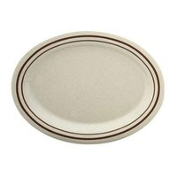 Arcadia Melamine Deep Platter - 12 inch x 9 inch 12 / Pack