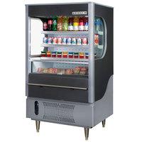 Beverage Air VM12-1-B Black VueMax Air Curtain Merchandiser 35 inch - 12 Cu. Ft.