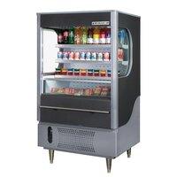 Beverage Air (Bev Air) VM12-1-B Black VueMax Air Curtain Merchandiser 35 inch - 12 Cu. Ft.