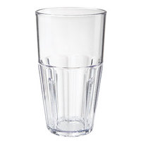 GET 9932-1-CL 32 oz. Clear Break-Resistant Plastic Bahama Tumbler - 72 / Case