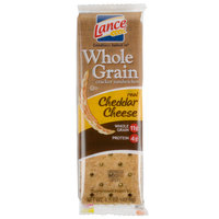 Lance Whole Grain Cheddar Sandwich Crackers 20 Count Box - 6 / Case