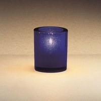 Sterno Products 80174 3 1/4 inch Blue Mini Bubbles Liquid Candle Holder