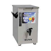 Bunn 03250.0003 TD4 4 Gallon Square Iced Tea Dispenser
