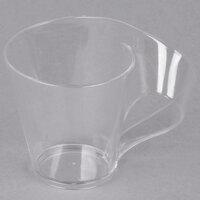 Fineline Tiny Temptations 6400-CL 2.7 oz. Tiny Tonics Clear Plastic Cup - 64/Case