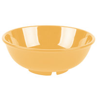 GET B-24-TY Diamond Mardi Gras 24 oz. Tropical Yellow Melamine Bowl - 12/Case
