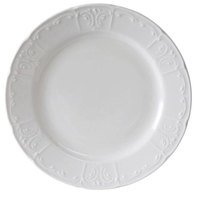 Tuxton CHA-077 Chicago 7 7/8 inch Bright White China Plate - 36/Case
