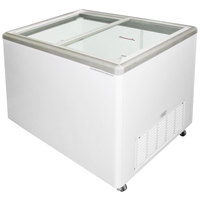 Excellence EURO-13WR Ice Cream Flat Top Flat Lid Display Freezer - 12.5 cu. ft.
