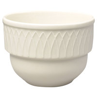 Homer Laughlin 7000-383 Gothic 7 oz. American White (Ivory / Eggshell) China Bouillon - 36 / Case