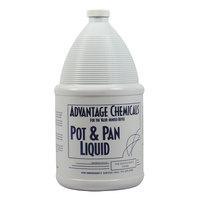1 Gallon Advantage Chemicals Pot and Pan Liquid Detergent - 4 / Case