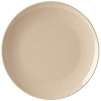 GET BAM-16102 BambooMel 12 inch Round Plate - 12/Case