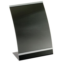 Tablecraft AS811 Curved Menu Displayette 8 1/2 inch x 11 inch