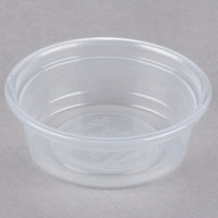 Dart Solo Conex Complements 050PC 0.5 oz. Translucent Plastic Souffle / Portion Cup - 125 / Pack