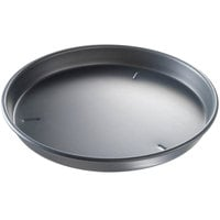 Chicago Metallic 91150 15 inch x 1 1/2 inch Deep Dish Hard Coat Anodized Aluminum Pizza Pan