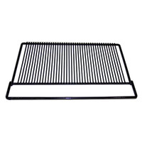 True 909239 Black Coated Wire Half Shelf - 19 11/16 inch x 16 1/2 inch