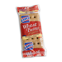 Lance Wheat Twins Crackers - 2 / Pack, 500 / Case