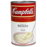 Campbell's 50 oz. Condensed Cream of Potato Soup - 12/Case