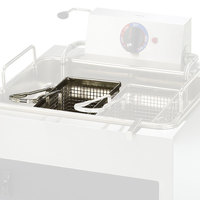Star 301TBL 10 11/16 inch x 5 3/16 inch x 5 1/8 inch Twin Fryer Basket with Left Hook
