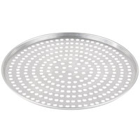 American Metalcraft A2013SP 13 inch x 1/2 inch Super Perforated Standard Weight Aluminum Tapered Pizza Pan
