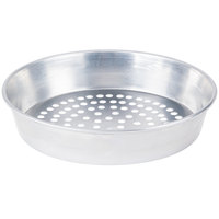 American Metalcraft SPA90142 14 inch x 2 inch Super Perforated Standard Weight Aluminum Tapered / Nesting Pizza Pan