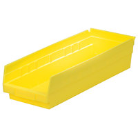 Metro MB30138Y Yellow Nesting Shelf Bin 17 7/8 inch x 6 5/8 inch x 4 inch