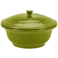 Homer Laughlin 495332 Fiesta Lemongrass 2.18 Qt. Covered Casserole Dish - 2 Sets / Case