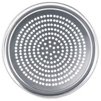 American Metalcraft SPHATP14 14 inch Super Perforated Heavy Weight Aluminum Wide Rim Pizza Pan