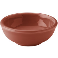 Hall China 30178334 Paprika 5 oz. China Salsa Bowl 36 / Case