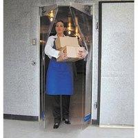 Curtron PP-C-080-5478 54 inch x 78 inch Polar-Pro Swinging Door - Polar Grade