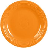 Homer Laughlin 466325 Fiesta Tangerine 10 1/2 inch Plate - 12/Case