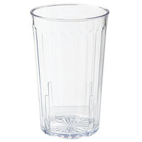 GET 8812-1-CL 12 oz. SAN Clear Plastic Spektrum Tumbler 72 / Case