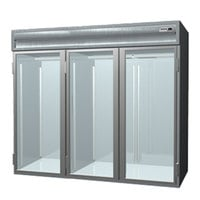 Delfield SARRI3-G 113.28 Cu. Ft. Three Section Glass Door Roll In Refrigerator - Specification Line