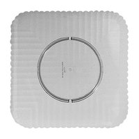 GET HI-2009-CL Mediterranean 12 inch Clear Square Polycarbonate Plate - 12/Case
