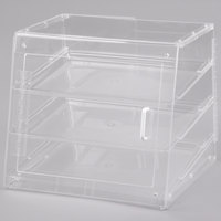 Cal-Mil 1011-S Three Tier U-Build Classic Pastry Display Case - 19 1/2 inch x 17 inch x 16 1/2 inch