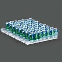 True 929814 Trueflex Bottle Organizer - 3 1/8 inch x 20 3/4 inch - 35 Total Lanes; for 20 oz. Bottles