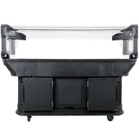 Carlisle 771103 Black 6' Maximizer Portable Food / Salad Bar