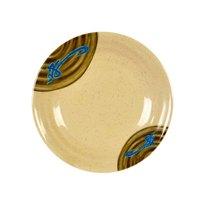 Wei 5 7/8 inch Round Melamine Plate - 12/Pack