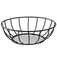 American Metalcraft SSB28 8 inch Straight-Sided Mesh Bottom Basket