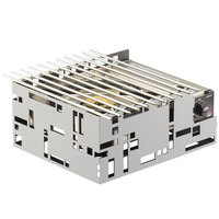 Cal-Mil 1617-55 Stainless Steel Squared 13 inch x 11 inch Butane Stove Frame