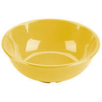 Yellow 32 oz. Melamine Salad Bowl - 12/Case