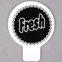 Deli Tag Topper - FRESH - Black