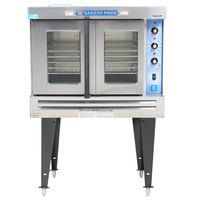 Bakers Pride GDCO-G1 Cyclone Series Liquid Propane Single Deck Full Size Convection Oven - 60,000 BTU