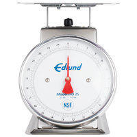 Edlund HD-25 Heavy-Duty 25 lb. Portion Scale with 8 1/2 inch x 8 1/2 inch Platform