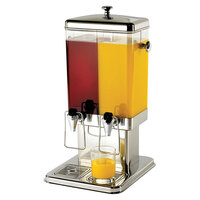 Tablecraft 70 Dual Cold Beverage / Juice Dispenser - 3 Gallons