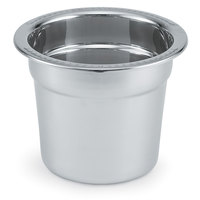 Vollrath 46458-1 Replacement Stainless Steel Inset / Food Pan for 4.2 Qt. Panacea and Maximillian Steel Soup Marmites
