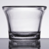 Libbey 5160 2.25 oz. Glass Round Oyster Cup / Sauce Cup - 144/Case